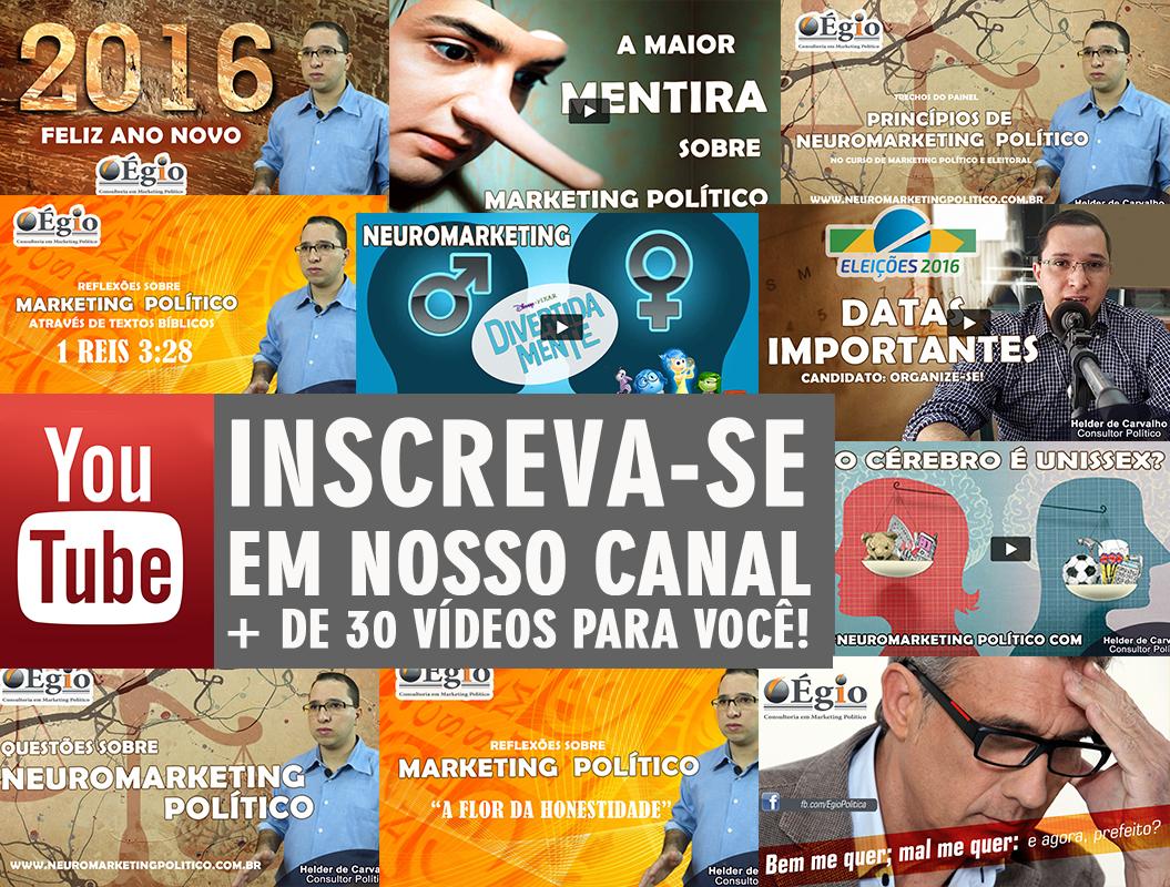 Eleição 2016 no Youtube – Dicas para Candidatos a prefeito e Vereador
