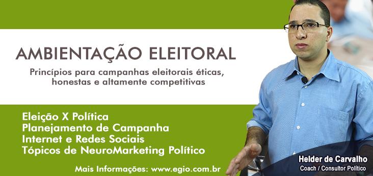 Ambientação Eleitoral - Eleições 2016
