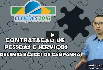 Eleições 2016 - Contratação de Pessoas e Serviços