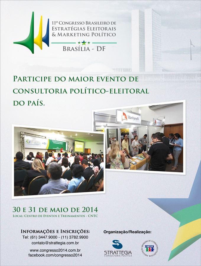 XI Congresso Brasileiro de Estratégias Eleitorais e Marketing Político