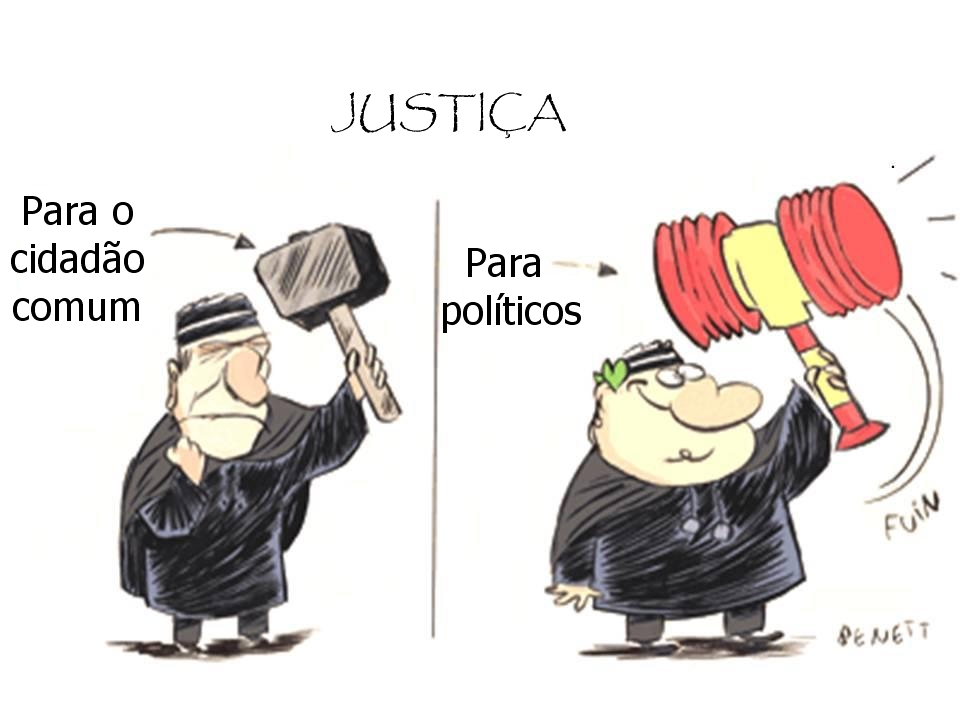 O justo e injusto na percepção do Eleitor.