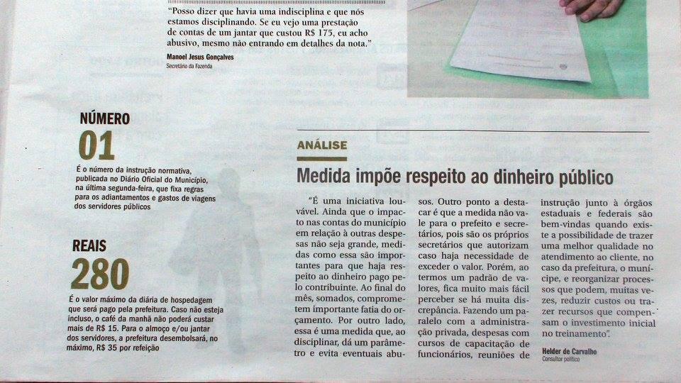 Prefeitura de Ribeirão Preto adota linha dura e limita gastos de viagens