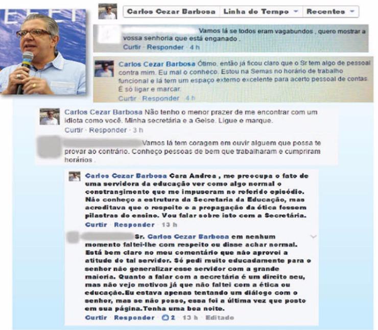 Vice-prefeito de Ribeirão Preto sobe o tom e chama munícipe para briga